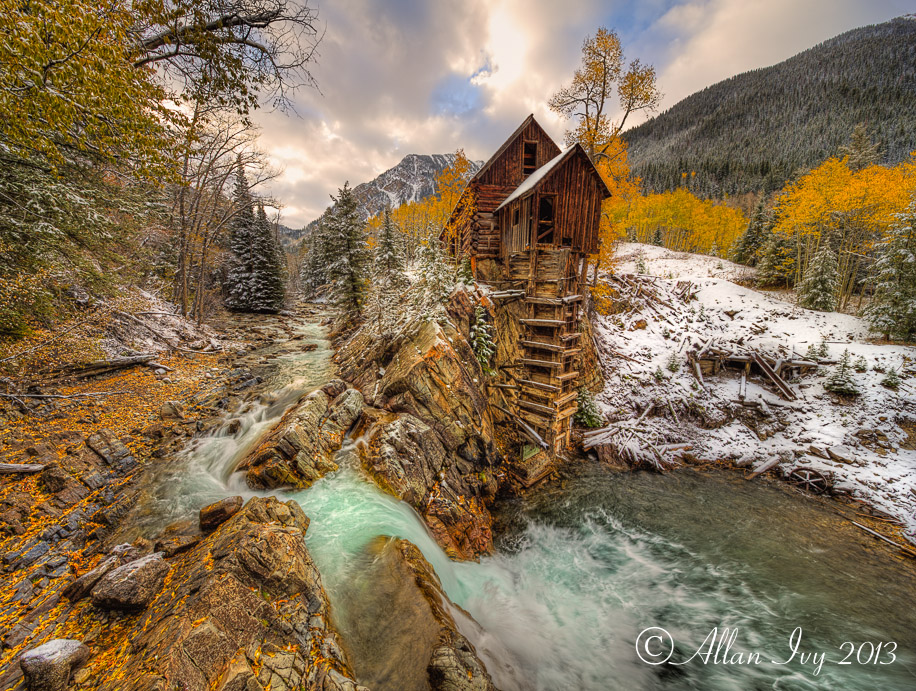 Crystal mill fall colors snow crystal river colorado for Crystal fall